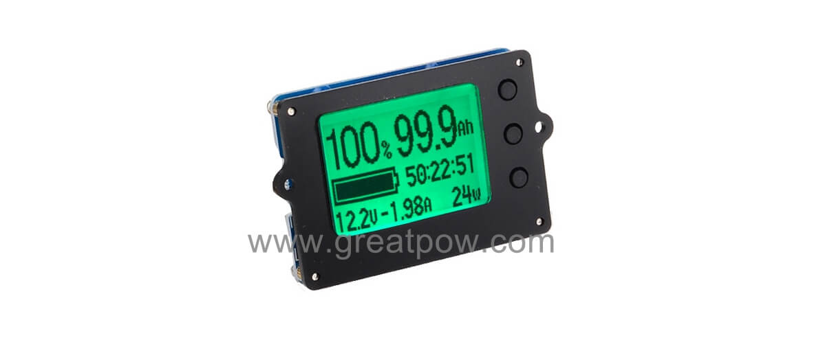 EJ-FG01 High precision real Capacity tester Coulometer battery monitor