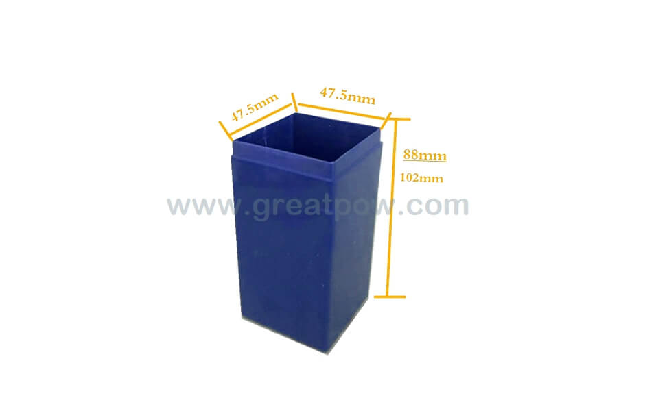 EJ04-04A SLA plastic box fix 4pcs 18650 Lithium battery cell