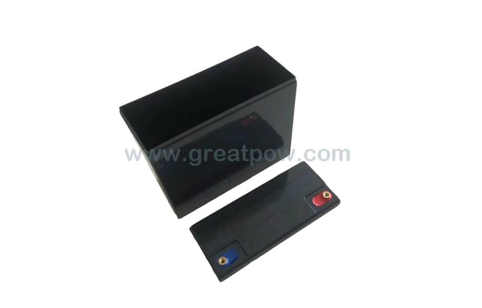 EJ12v-20A SLA plastic battery box for 72PCS 18650 Lithium battery cells