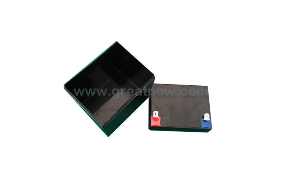 EJ12v-4a SLA plastic battery box for 12PCS 18650 Lithium battery cells