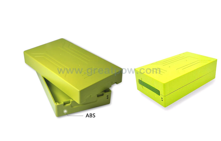 EJ48-15A plastic battery box for 18650 Lithium battery cells