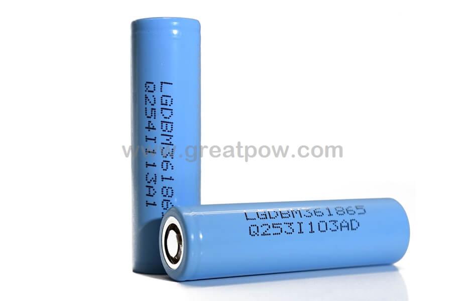 LG M36 18650 3450mAh 5.1A Battery