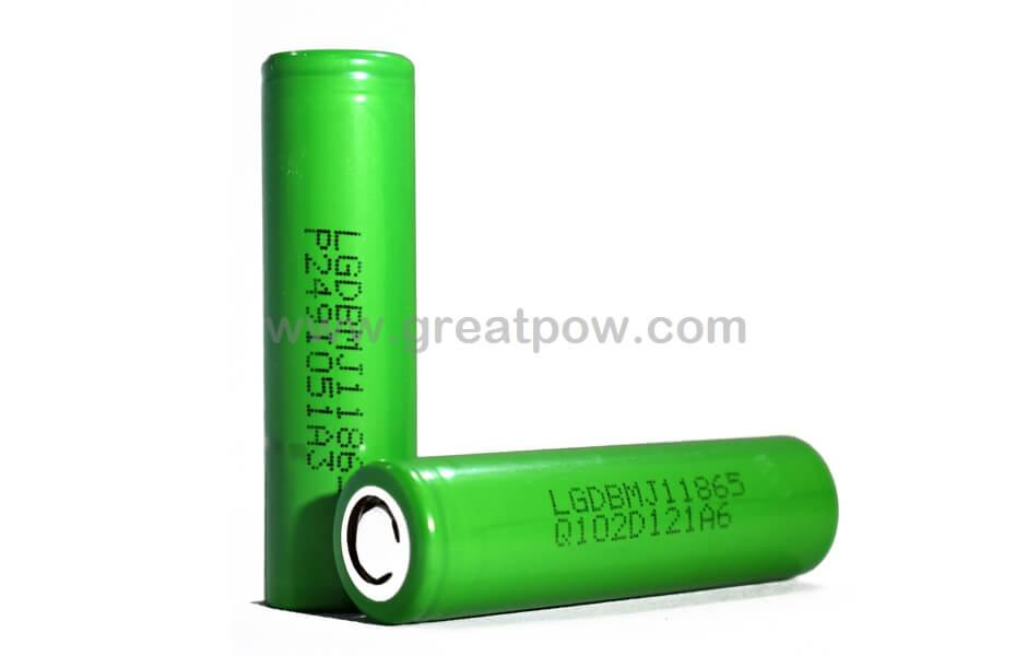 LG MJ1 18650 3500mAh 10A Battery