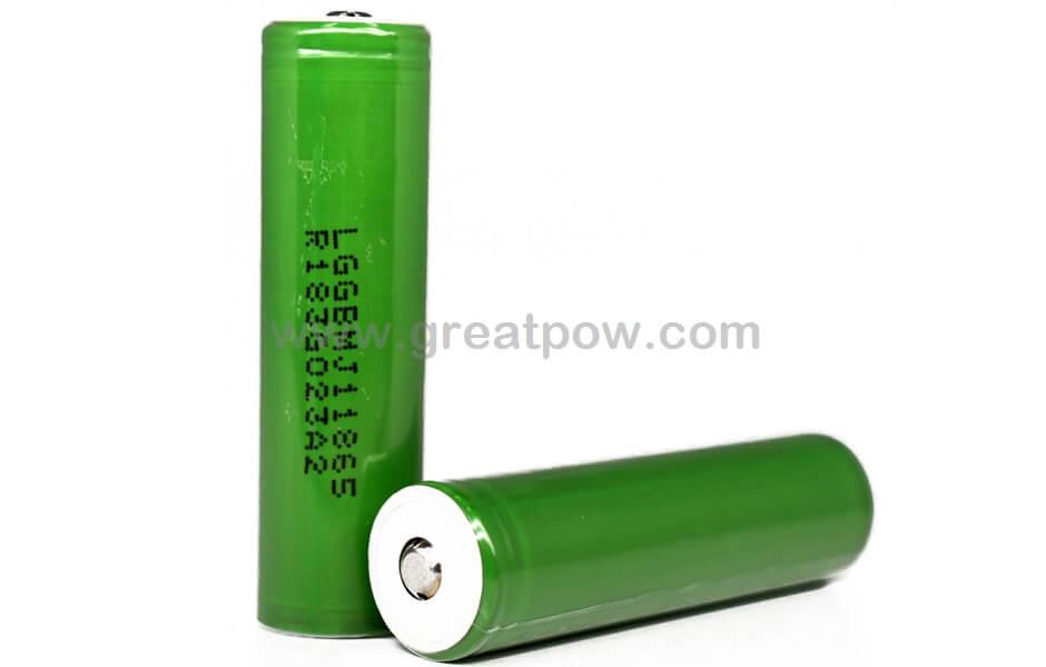 LG MJ1 18650 3500mAh 10A - Button Top Battery