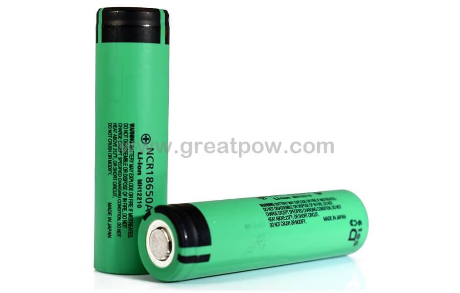 Panasonic NCR18650A 3100mAh 6.2A Battery