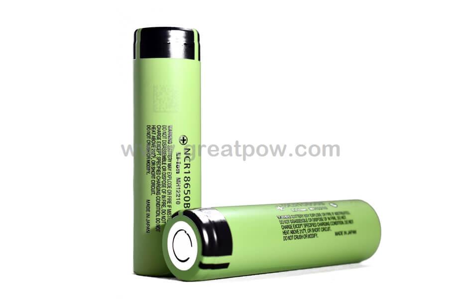 Panasonic NCR18650B 3400mAh 4.9A Battery