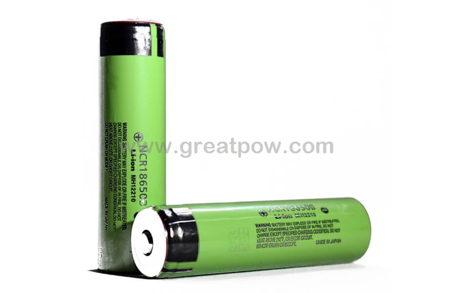 Panasonic NCR18650B 3400mAh - Button Top Battery