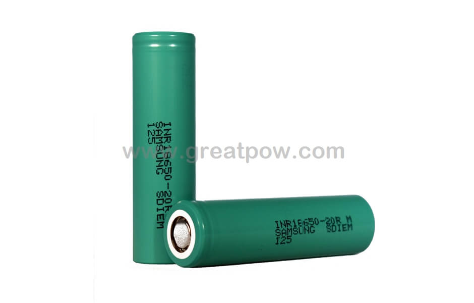 Samsung 20R 18650 2000mAh 22A Battery