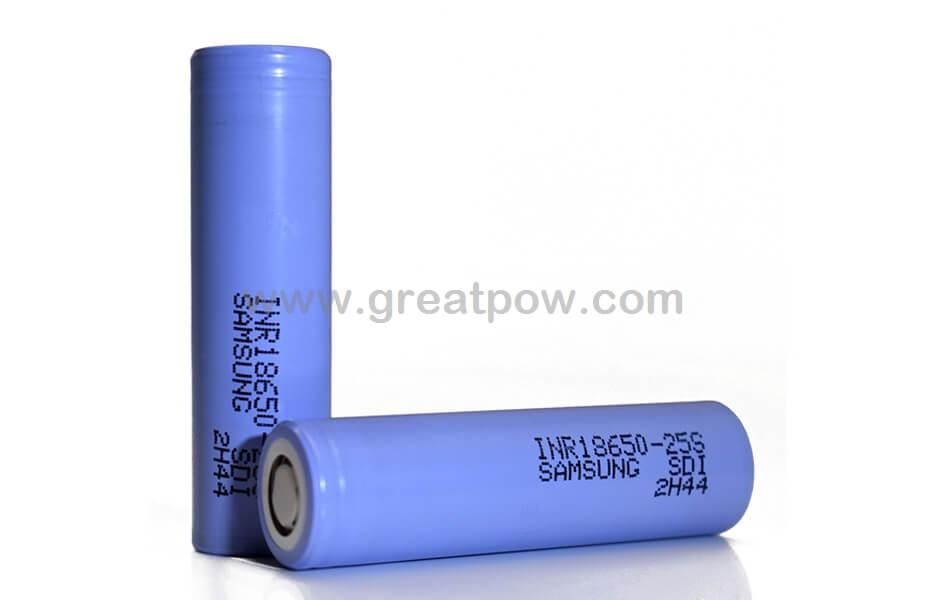 Samsung 25S 18650 2500mAh 25A Battery