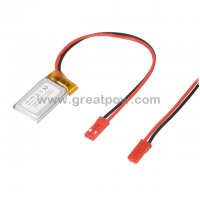 LP421730 175mAh 3.7V Polymer Lithium Battery Li-Po Size 4.2×17.0×30.0mm 4