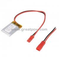 LP402030 190mAh 3.7V Polymer Lithium Battery Li-Po Size 4.0×20.0×30.0mm 5
