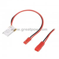Small 3.7V 50mAh 301020 Lithium Polymer Battery for GPS PSP DVD Power