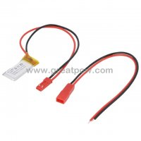 LP211528 65mAh 3.7V Polymer Lithium Battery Li-Po Size 2.1×15.0×28.0mm 3