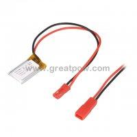 LP301525 85mAh 3.7V Polymer Lithium Battery Li-Po Size 3.0×15.0×25.0mm 4