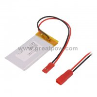 LP103053 90mAh 3.7V Polymer Lithium Battery Li-Po Size 1.0×30.0×53.0mm 5