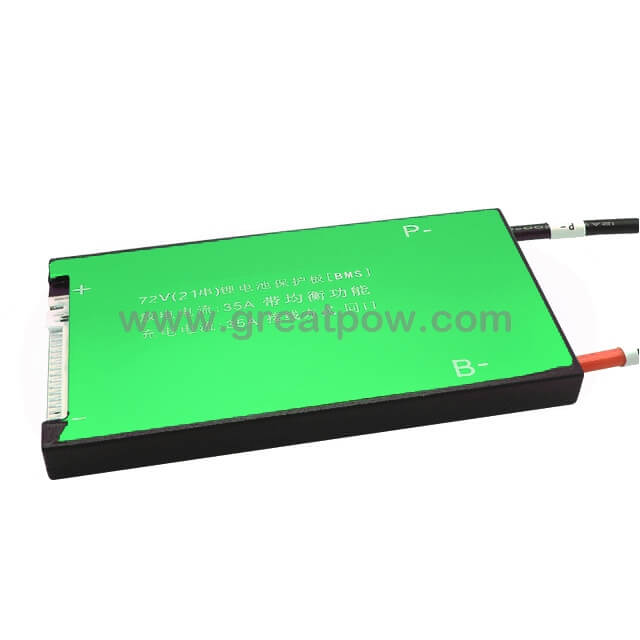 21S 35A 45A 60A Lili ion Waterproof BMS For Rechargeable Lithium Battery With Same Port for lithium battery