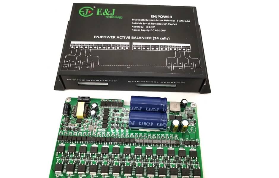 1A Balance MS Li-ion Lipo Lifepo4 LTO Balancer APP Protection Board