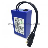 EJ1206800BS Li-ion battery with monitor power swtich portable power swtich 12 volt 6800mah battery pack 8