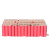 12S7P 43.2v 50.4v 70A 24500mAh SANYO NCR18650GA Battery Pack 5