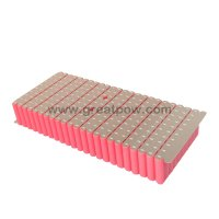 23s10p 84V 35Ah Sanyo NCR18650GA 80A 85.1v 35000mAh 96.6v Li-ion customized Battery Pack 2