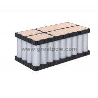 6S6P 22.2v 25.2v 60A 19200mAh PANASONIC NCR18650BD Lithium Battery Pack with holder bracket 9
