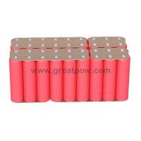 6S6P 22.2v 25.2v 60A 21000mAh SANYO NCR18650GA battery pack 4