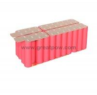 6S7P 24V 24.5AH 22.2v 70A 25.2v 24500mAh SANYO NCR18650GA battery pack 14
