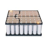 6S8P 22.2v 25.2v 80A 25600mAh PANASONIC NCR18650BD Lithium Battery Pack with holder bracket 13