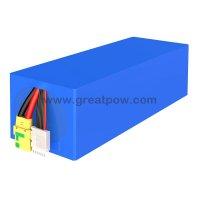 6S8P 24V 25.6AH 80A 25.2v 25600mAh PANASONIC NCR18650BD Lithium Battery Pack with holder bracket 11