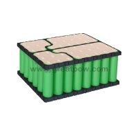 6S8P 24v 24Ah 22.2v 24000mAh 25.2v 160A  SONY US18650VTC6 battery pack with holder bracket 7