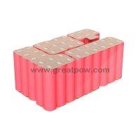 7S6P 24v 21Ah Li-ion battery pack 25.9v 21000mAh 29.4v 60A Sanyo NCR18650GA battery pack 14