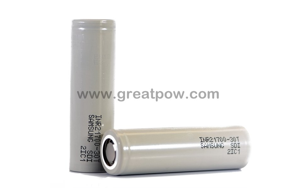 Samsung 30T 21700 3000mAh 35A Battery 1