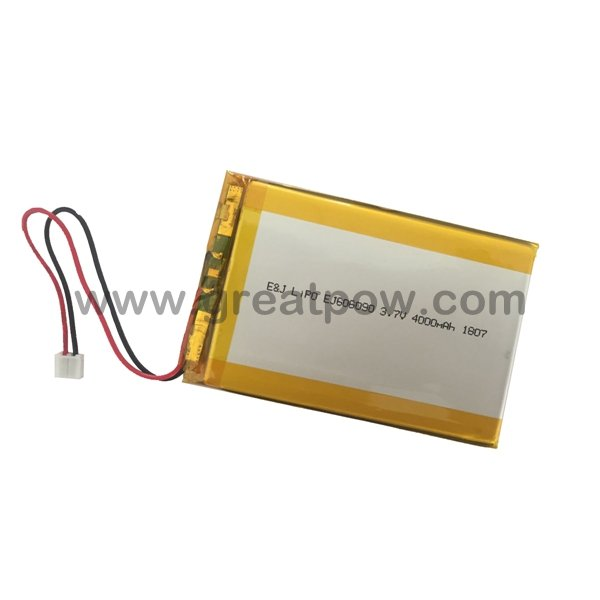 LP606090 4000mAh 3.7V Polymer Lithium Battery Li-Po Size 6.0×60.0×90.0mm for Tablet PC 1